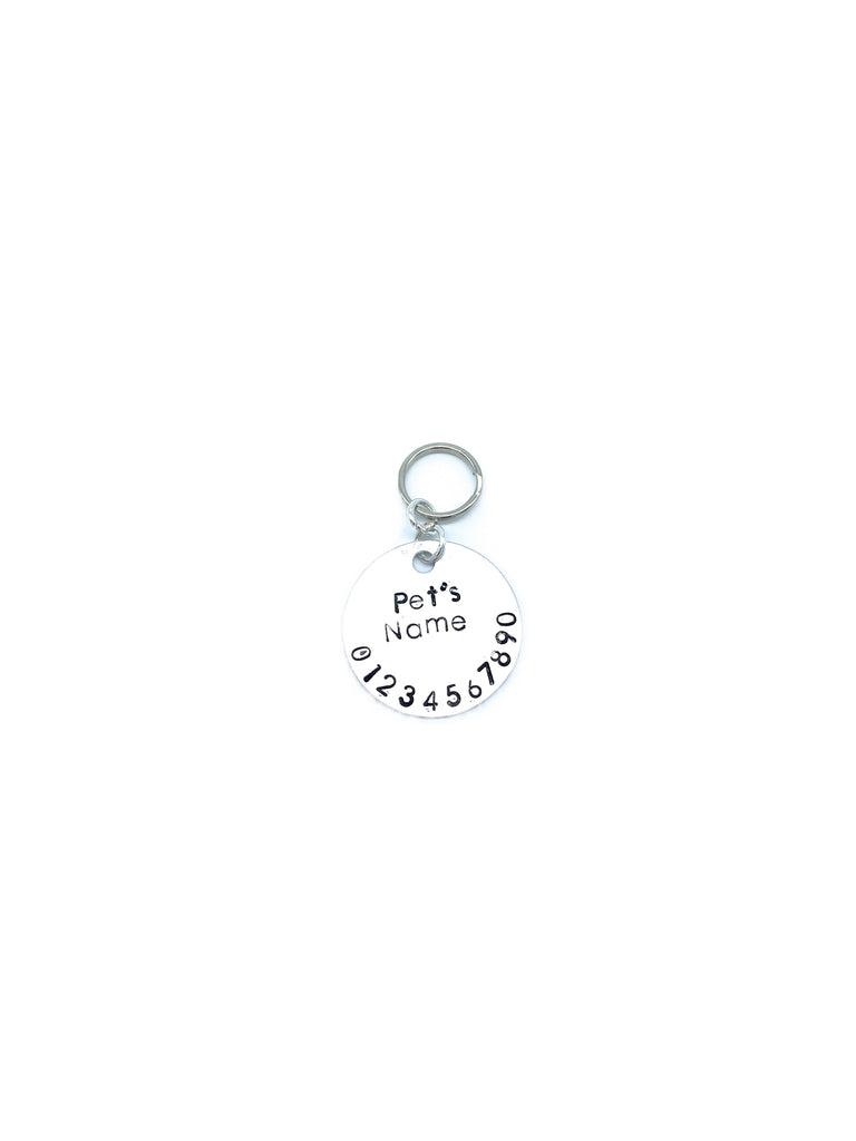 Hand-Stamped Pet Identification Tags