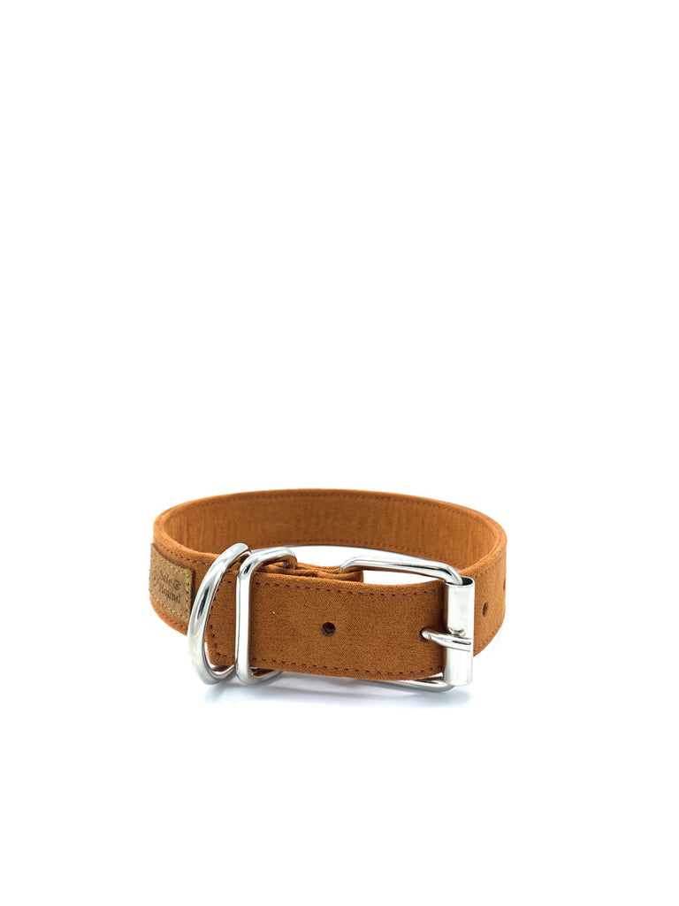 Sample Sale: Jessie Collar & Bow in Gingerbread + Silver Hardware