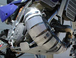#11-29 Pipe Guard for 2017-2021 Husqvarna 250/300 TE, TC with FMF Fatty Pipe