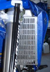 #12-34 Radiator Guard for 2006-2009 Yamaha YZ250F & 2007-2009 YZ450F & 2007-2011 WR250F