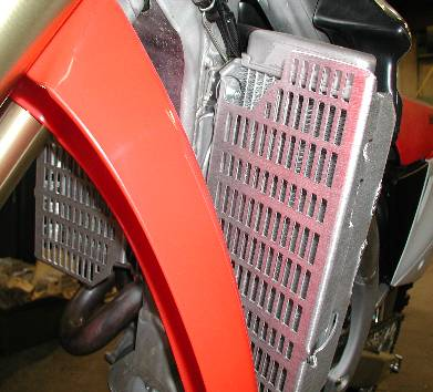 #12-27 Radiator Guard for 2005-2019 Honda CRF450X
