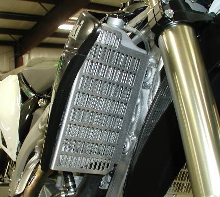 #12-43 Radiator Guard for 2009-2012 Kawasaki KX250F
