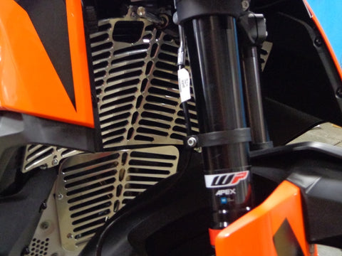 #12-74 Radiator Guard for 2019-20 KTM 790 Adventure & Adventure R