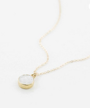 Load image into Gallery viewer, Dainty Druzy Necklace