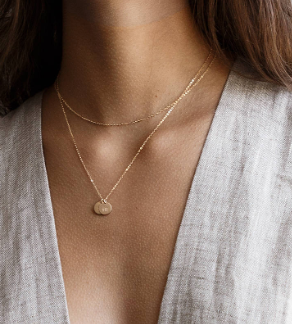 Delicate  Wraparound Necklace