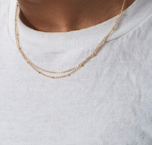 Load image into Gallery viewer, Double Chain Delicate Necklace