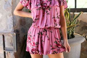 Pretty In Pink Romper