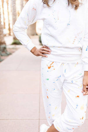 Splatter Paint Sweats