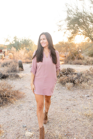 Off The Grid Shift Dress