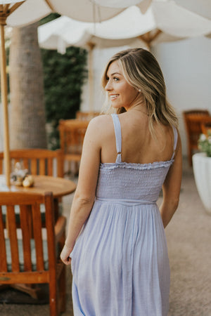 Days Like This Smocked Dress- Lavender