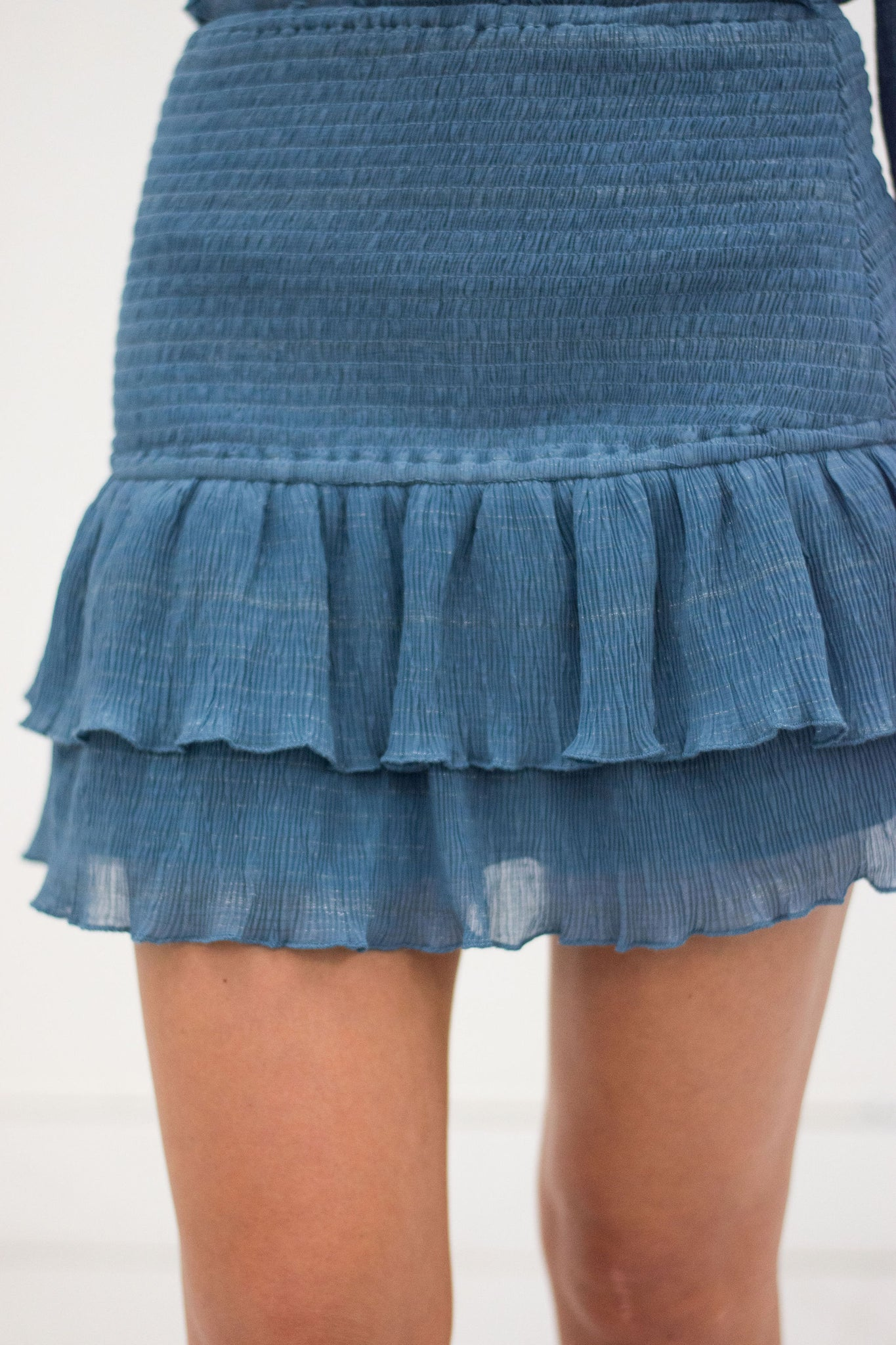 Angel Babe Smocked Skirt
