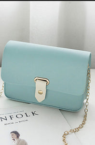 Women's Cross Body Bag - Comes in gray, teal, burgudy