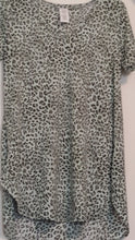 Load image into Gallery viewer, Women's Cheetah Print shirt with a soft blouse feeling