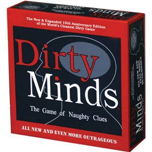 Dirty Minds. The Game of Naughty Clues (Deluxe)