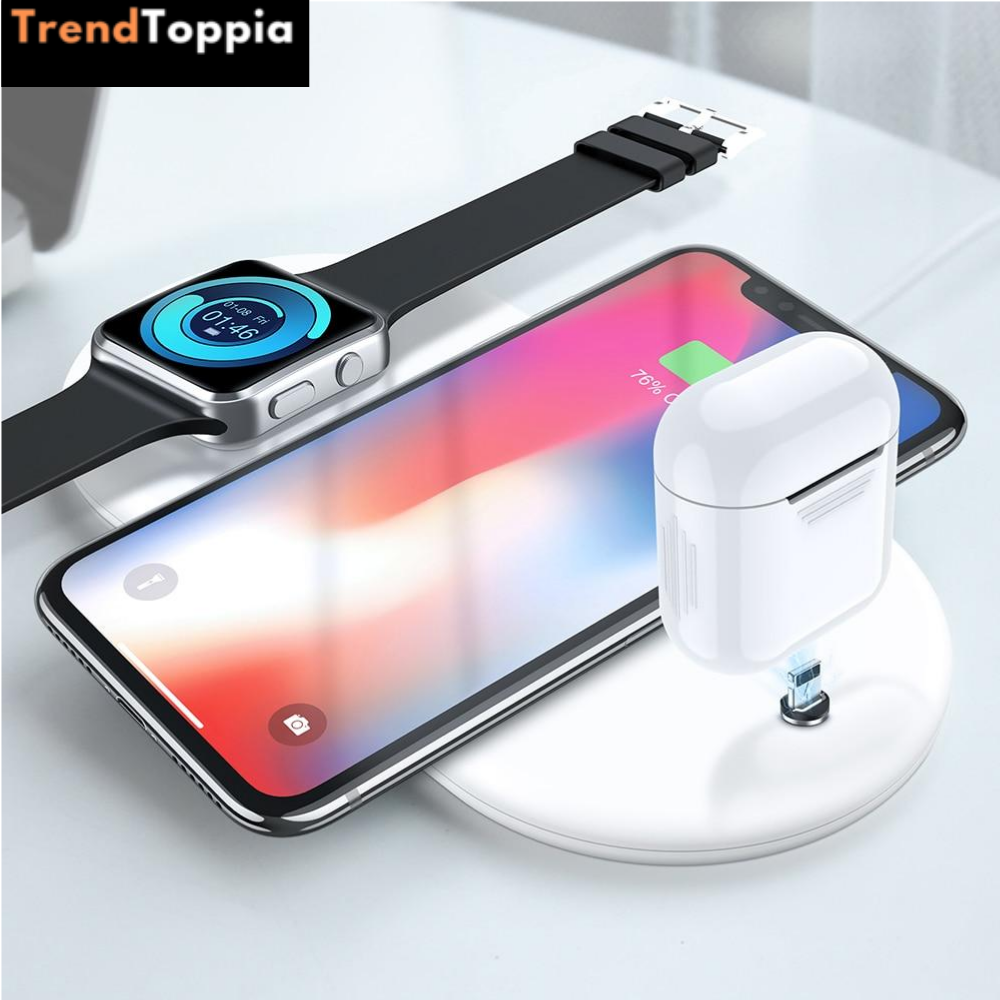 3 IN 1 Wireless IOS Charger