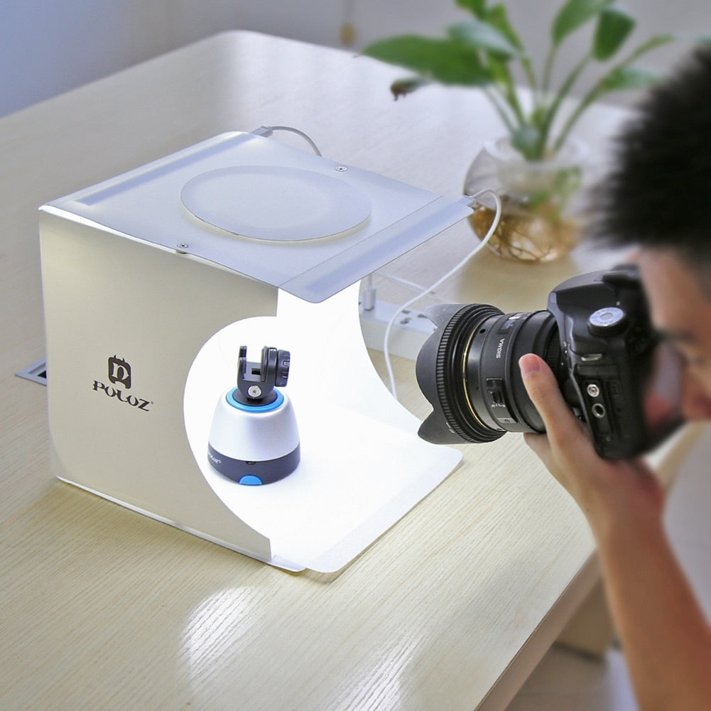 Mini Folding Lightbox Photo Studio