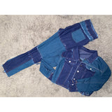 Duo Denim Set