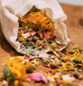 Herbal Rose Bath Tea