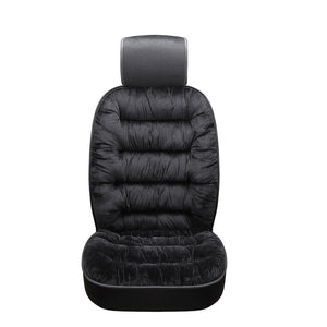 Universal Winter Warm Plush Cloth Car Seat Cushion
