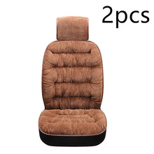 Load image into Gallery viewer, Universal Winter Warm Plush Cloth Car Seat Cushion