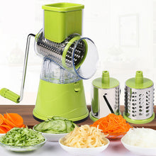 Load image into Gallery viewer, DUOLVQI Manual Vegetable Cutter Slicer Kitchen Tools Multi-functional Round Mandoline Slicer Potato Cheese Kitchen Gadgets