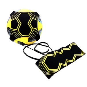 Top quality Football Kick Solo Trainer Belt Adjustable Swing bandage Control Soccer Training Aid Equipment Waist Belts