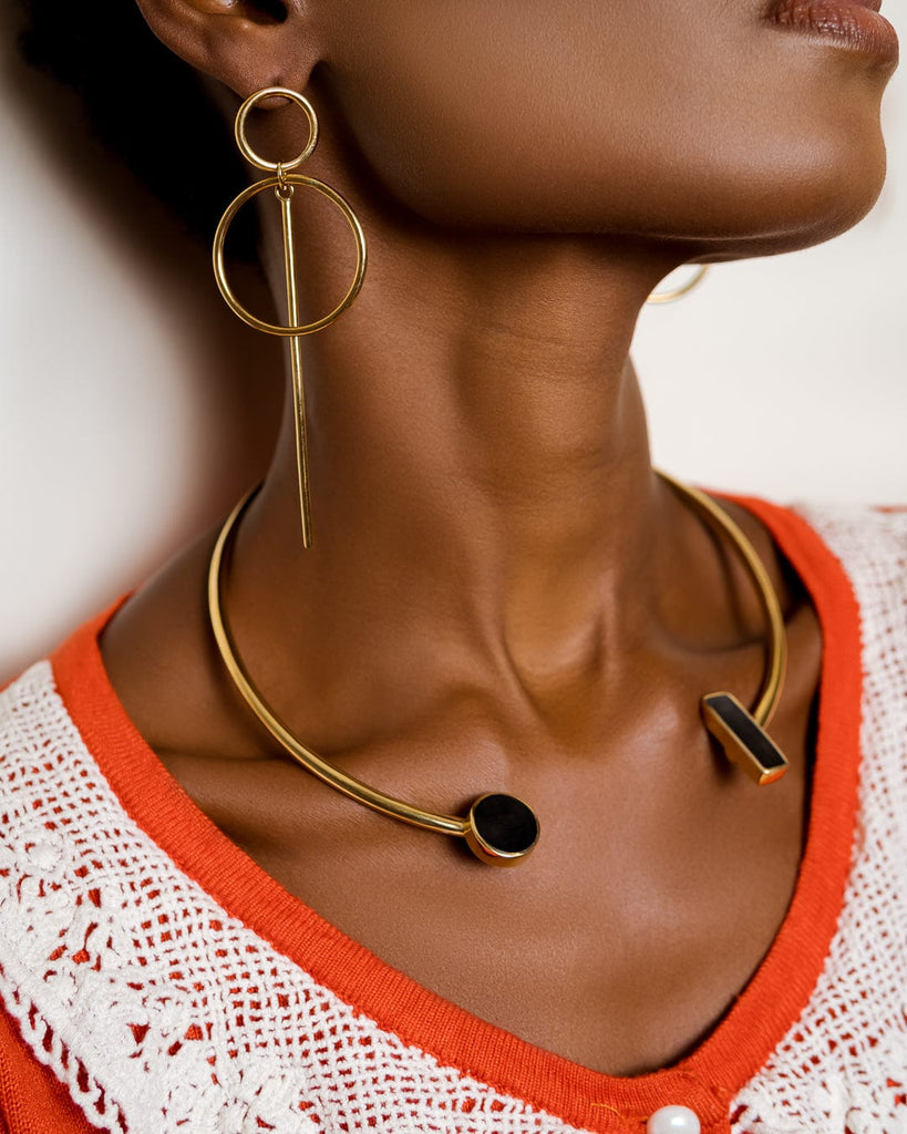 Ayanna earrings - Handmade in Kenya