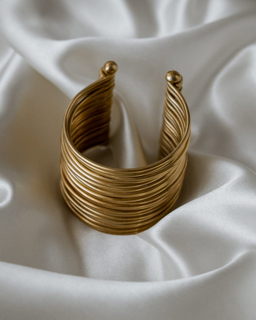 Imani brass buff -  Handmade in Kenya