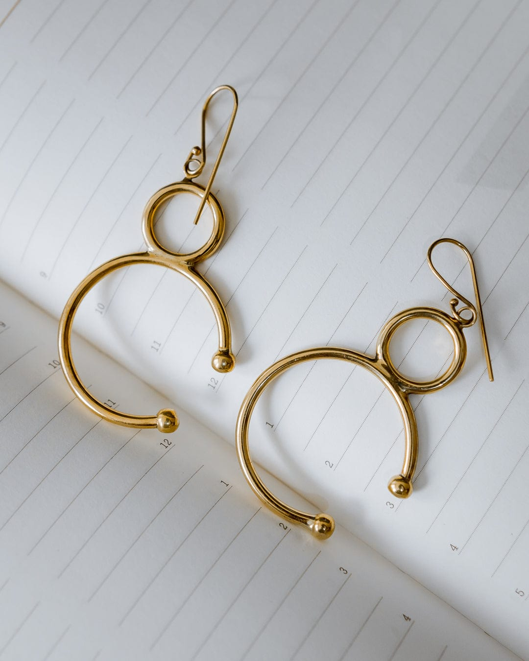 Jabori earrings -  Handmade in Kenya