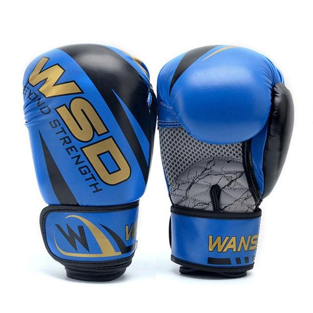 Gloves - Blue / Gold Boxing Gloves 6oz/10oz/12oz - Various Weights Available