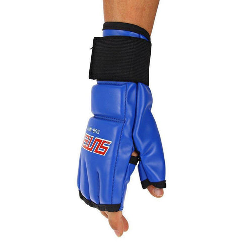 Gloves - Blue MMA Fight Gloves