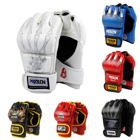 Gloves - Red Animal Claw MMA Fight Gloves