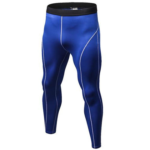 Image of Leggings - Blue Compression Spats / Leggings