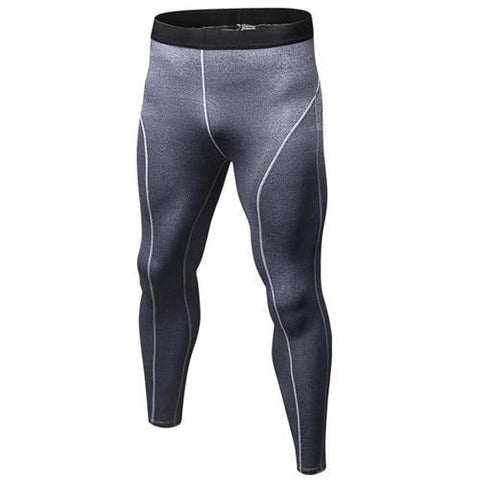 Image of Leggings - Grey Compression Spats / Leggings