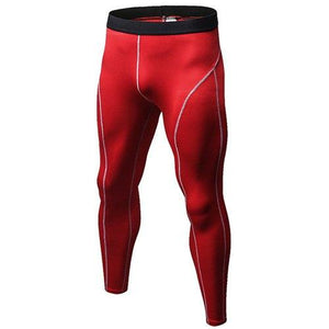 Leggings - Red Compression Spats / Leggings