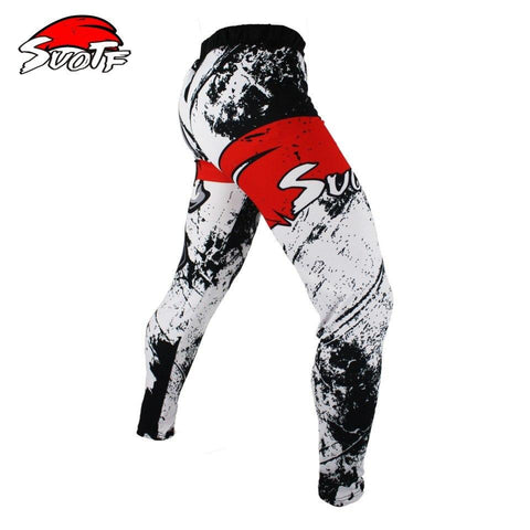 Image of Leggings - Skull / Red Cross Spats / Leggings