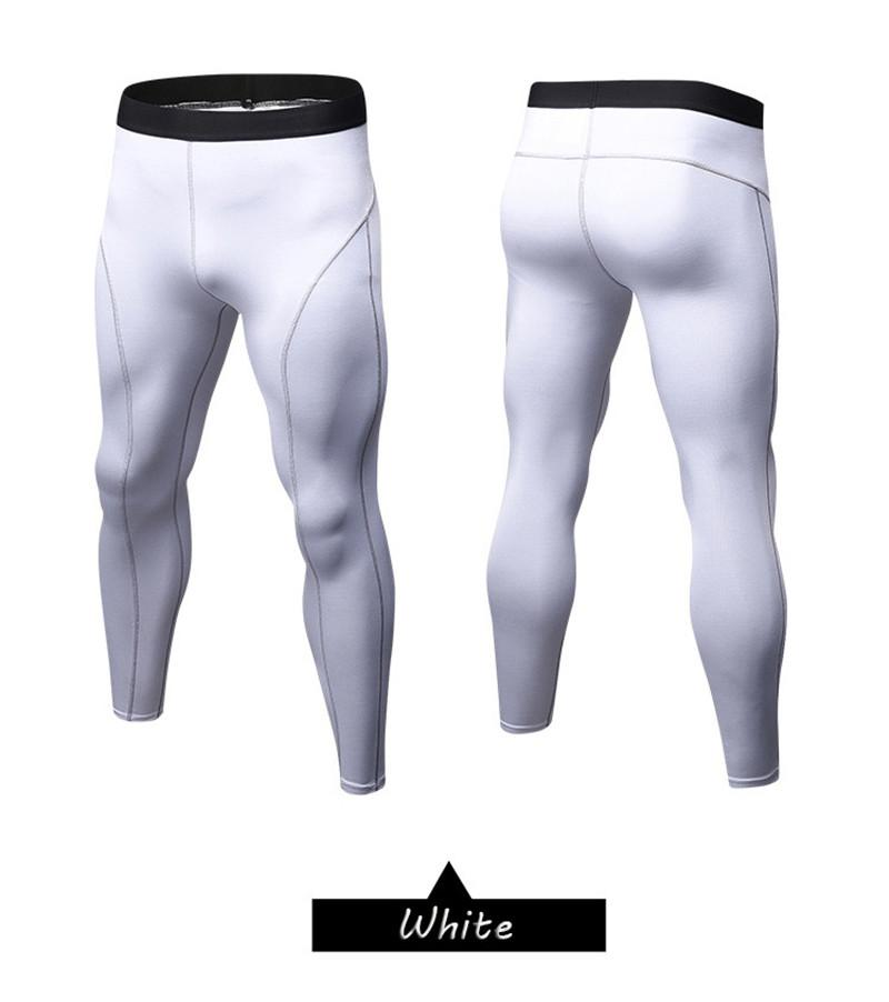 Leggings - White Compression Spats / Leggings