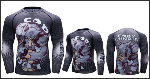 Long Sleeve - Fuming Rhino Rashguard (long Sleeve)