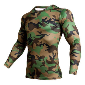 Long Sleeve - MTP Camo Print Rashguard (long Sleeve)