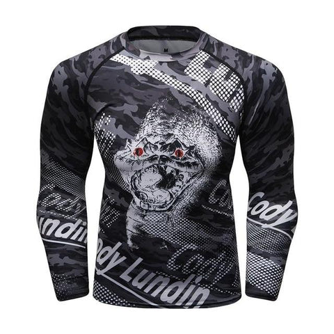 Long Sleeve - Red Eyed Cobra Rashguard (long Sleeve)