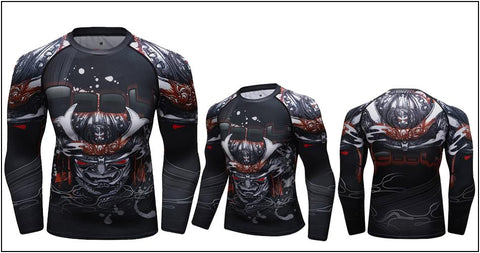 Image of Long Sleeve - Red Eyed Skull Rashguard (long Sleeve)