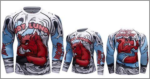 Long Sleeve - Red Warthog Rashguard (long Sleeve)