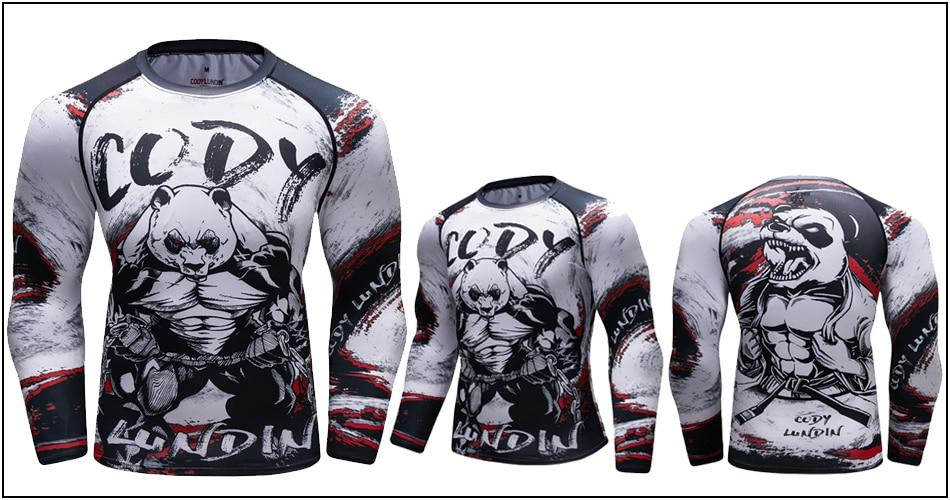 Long Sleeve - Strong Panda Rashguard (long Sleeve)