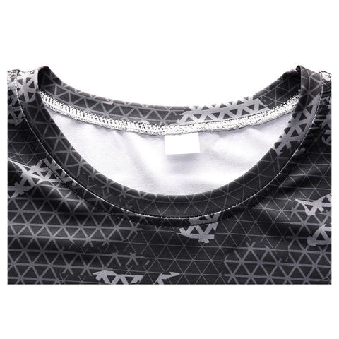 Image of Long Sleeve - White Camo Print Rashguard (long Sleeve)