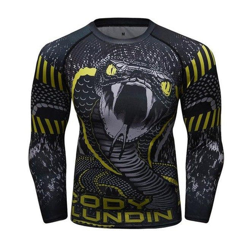 Long Sleeve - Yellow Eyed Viper Rashguard (long Sleeve)