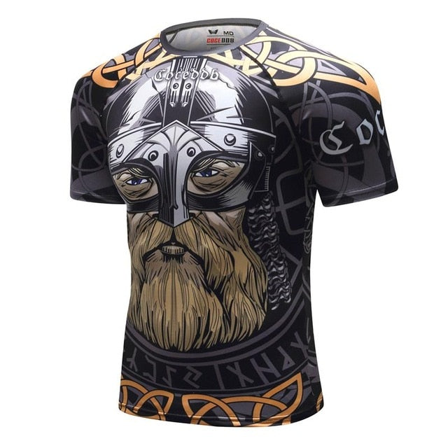 Viking rashguard (short sleeve)