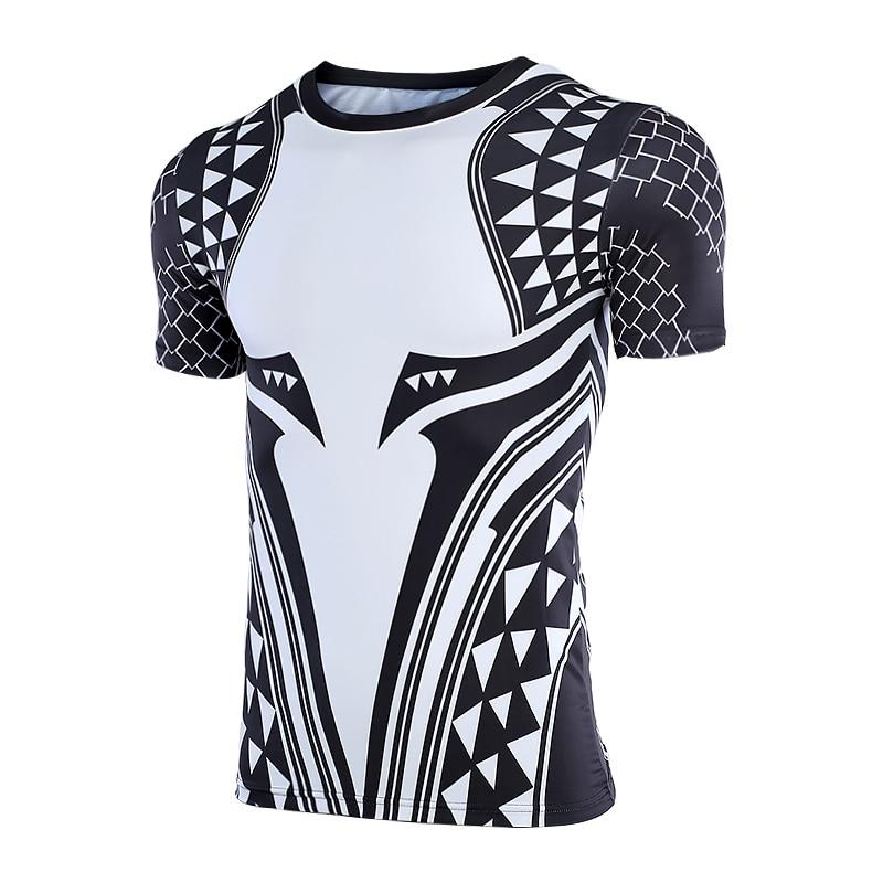 Short Sleeve - Aquaman Rashguard Black/white (short Sleeve)