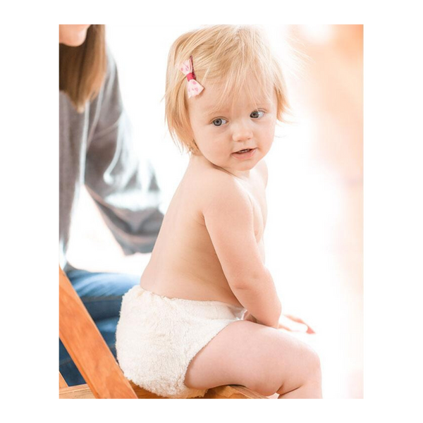 LittleLamb Organic Cotton Nappy Lifestyle Image