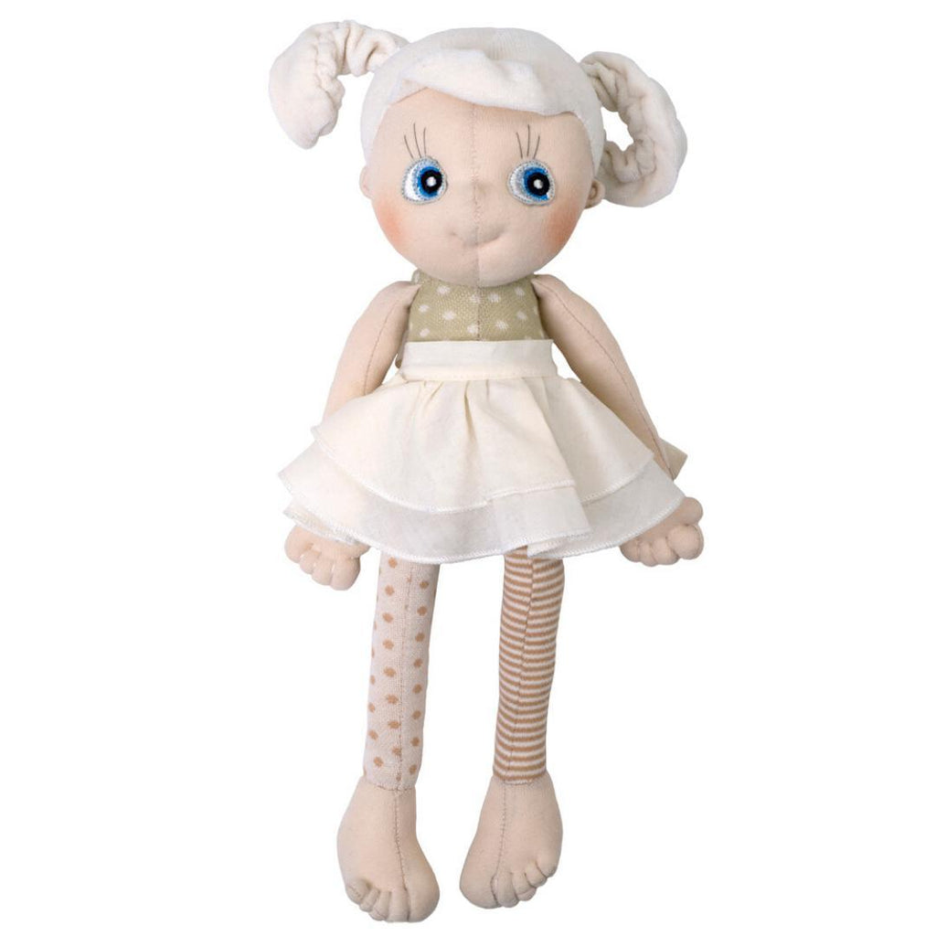 Organic Cotton Handmade Doll Rubens Barn EcoBuds Daisy-Organic Cotton Toys & Dolls-Rubens Barn-Nature's Little Ones