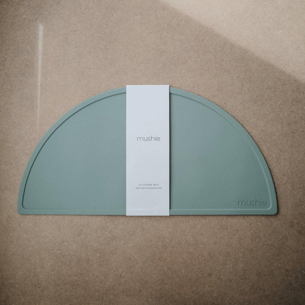 Silicone Kids Placemat Sage Green